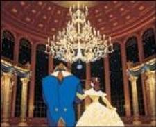 Бальный зал - яркий образец прихода трёхмерной графики в мультфильмы